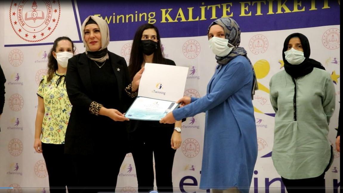 e-Twining Ödül Töreni